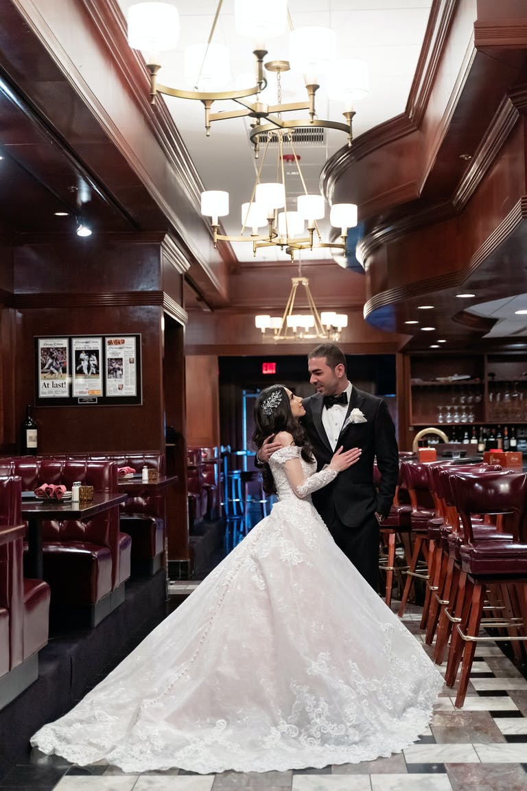 Stunning, Elegant Wedding at The Estate by Gene and Georgetti in Chicago, IL