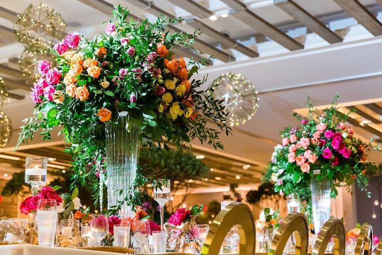 Stunning indoor garden themed Miami Beach wedding
