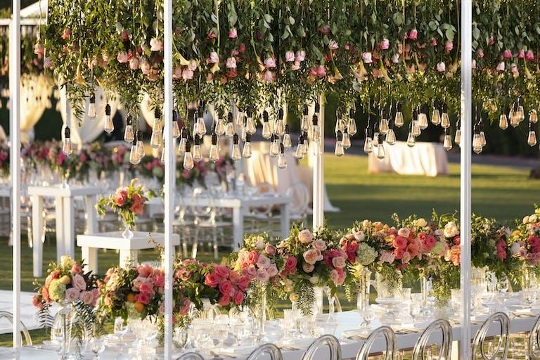 Vibrant Floral Installation Wedding at Monarch Beach Resorts
