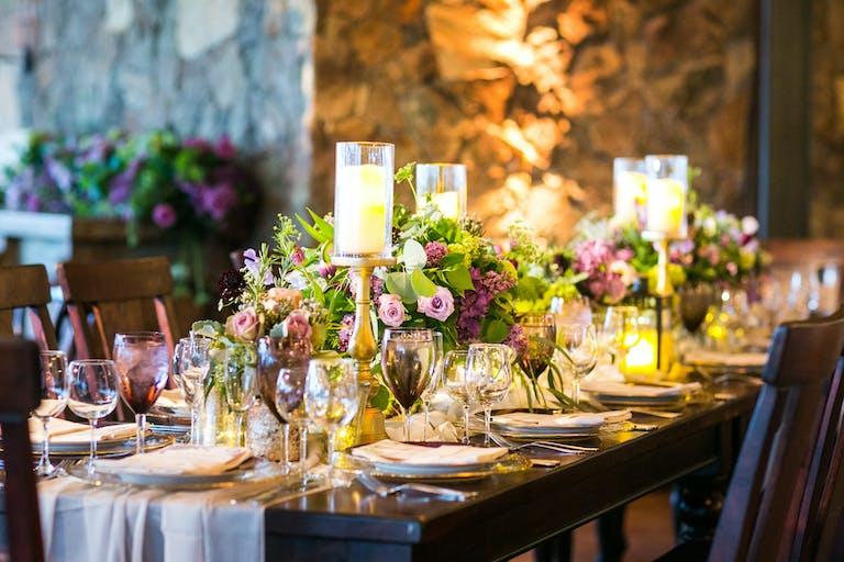 Vibrant Winery Wedding