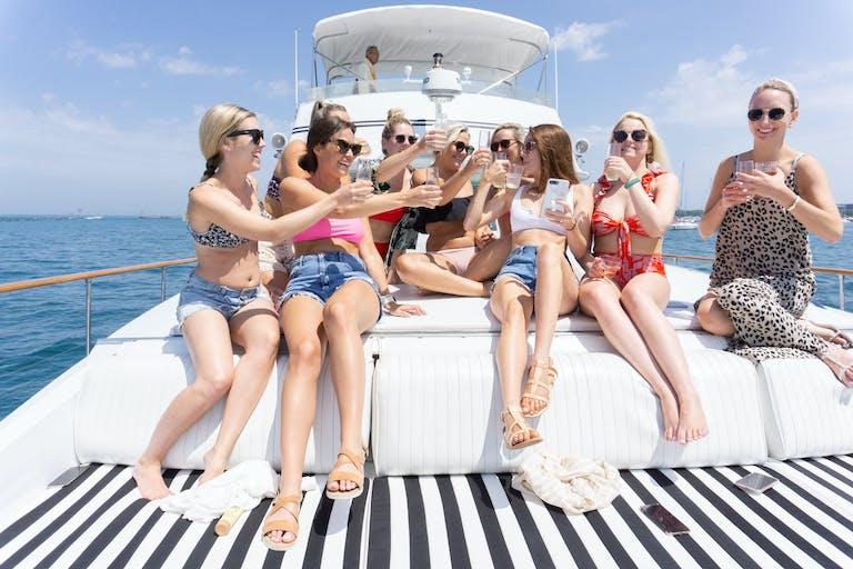 Bachelorette Weekend Wedding Shower at Sea on Adeline's Sea Moose | PartySlate