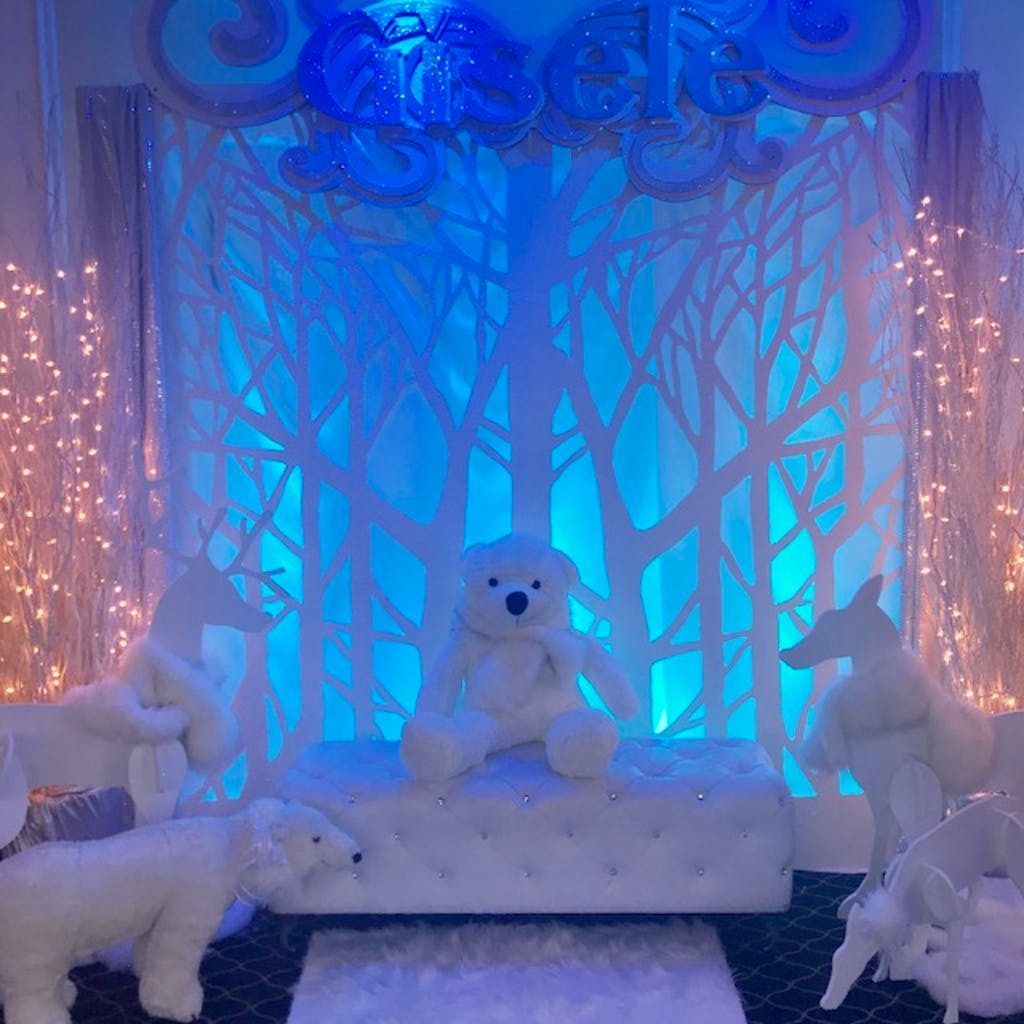 A Winter Wonderland 1st Birthday Celebration at Waterside Events in Edgewater, NJ