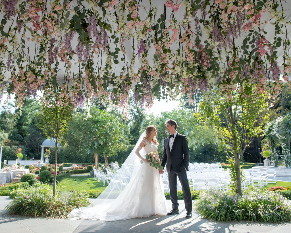 Elegant Outdoor Summer Wedding at Park Chateau Estate in East Brunswick NJ