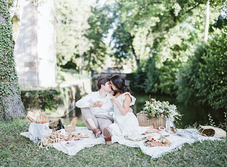 Intimate Wedding Shoot at Chateau de Courtomer in Courtomer, France
