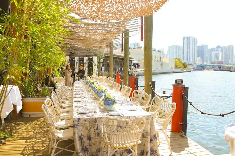 Intimiate Wedding at Seaspice Brasserie & Lounge in Miami, Florida