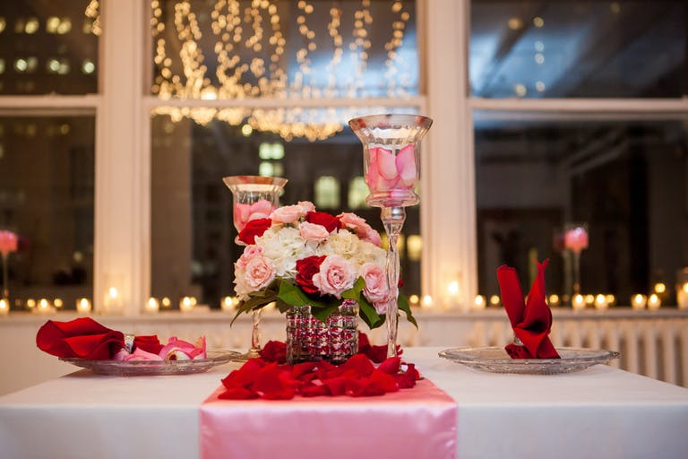 Valentines day intimate dinner date | PartySlate