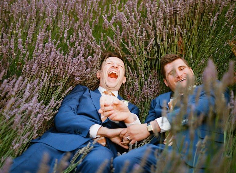 Matt and Todd's Carmel Valley Garden Wedding
