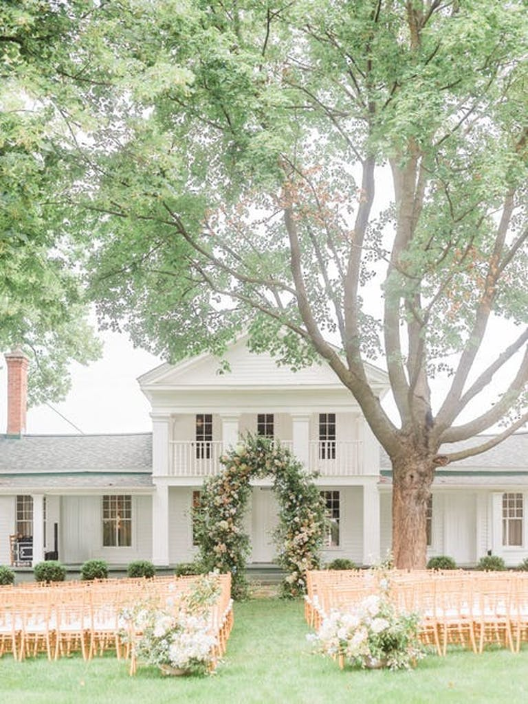 Home outdoor wedding | PartySlate