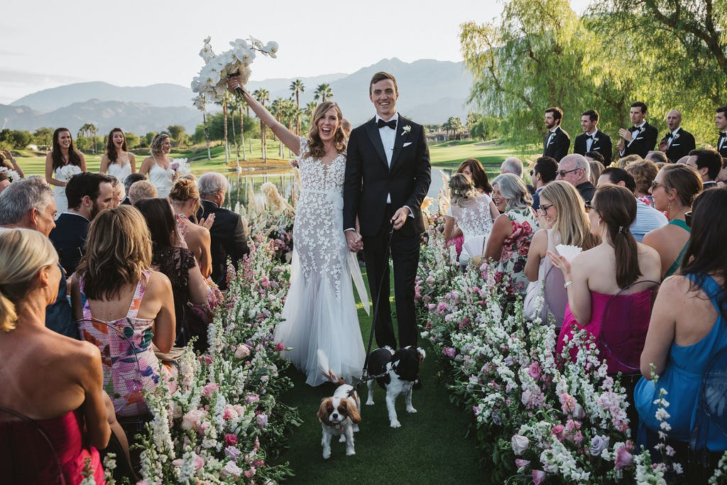 Picturesque Outdoor Wedding at The Hideaway Golf Club in La Quinta, California