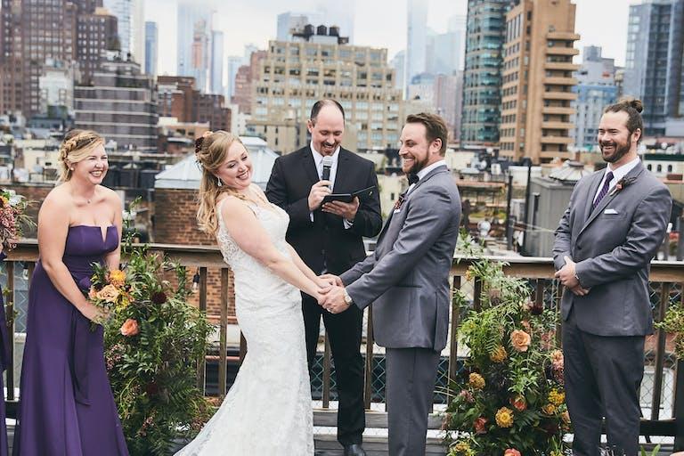 Soho Rooftop Wedding