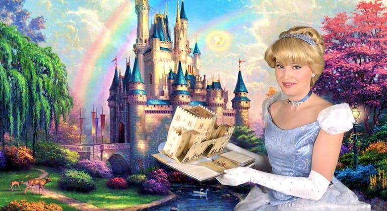 Children's Birthday Party Video Invitation Featuring Cinderella!