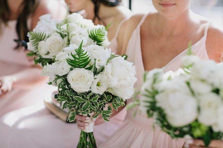 Garden Style Spring Wedding Bouquets