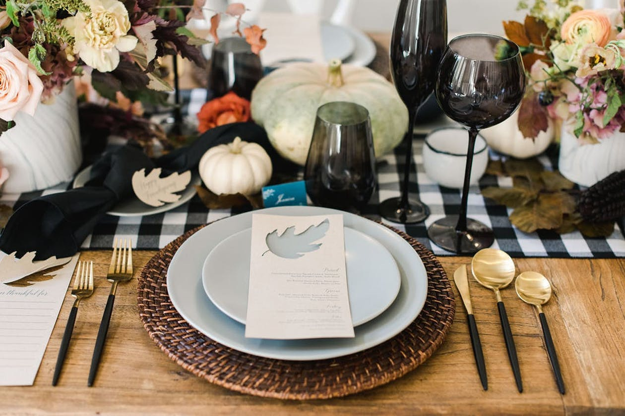 Thanksgiving place setting | PartySlate