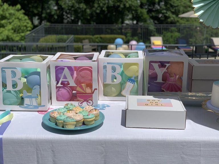 2021 trend baby shower tie-dye theme | PartySlate