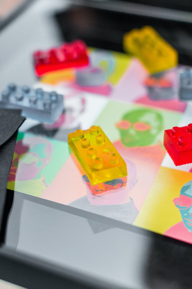 Chic star wars table design with jello legos on top   PartySlate