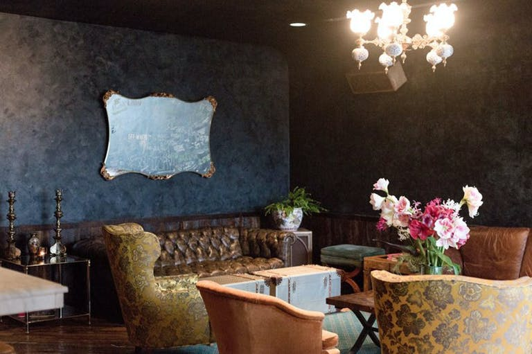 Private Dining Space in Upstairs Lounge at Eleven Eleven in the West Loop neighborhood of Chicago, Il