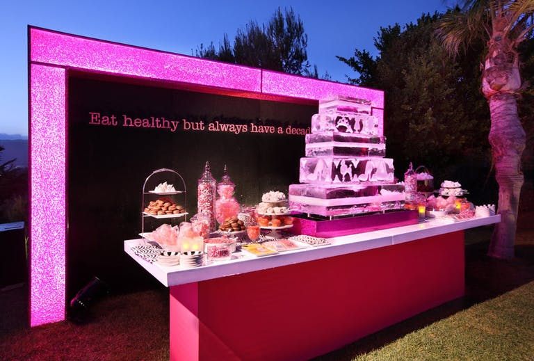 2021 trend barbie themed food table | PartySlate