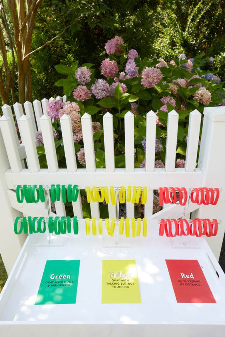 Red, green, yellow wristbands for 2021 trends that show your comfort level   PartySlate