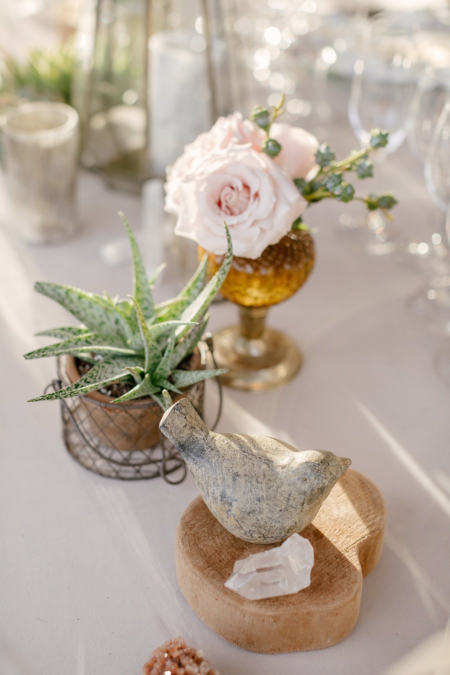 21 Succulent Wedding Centerpieces That Wow Photos Partyslate