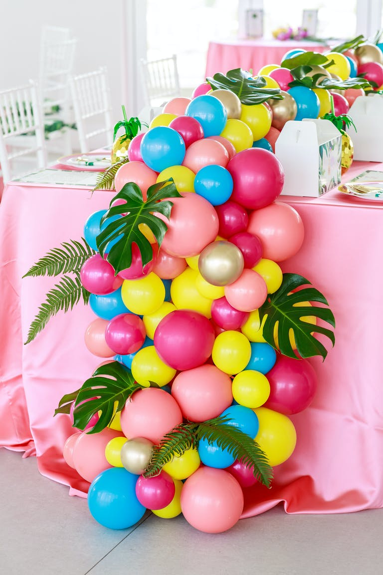 Tropical Twin Baby Shower at PENTHOUSE at Riverside Wharf in Miami, FL