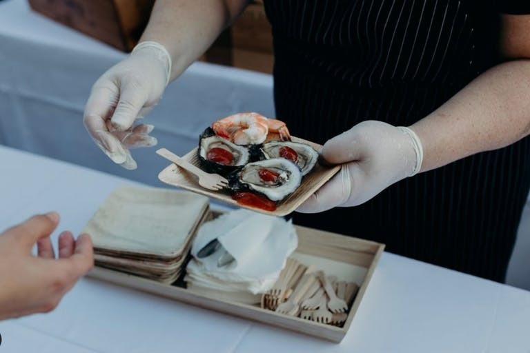 Socially-Distanced Oyster Bar from My House Events | PartySlate