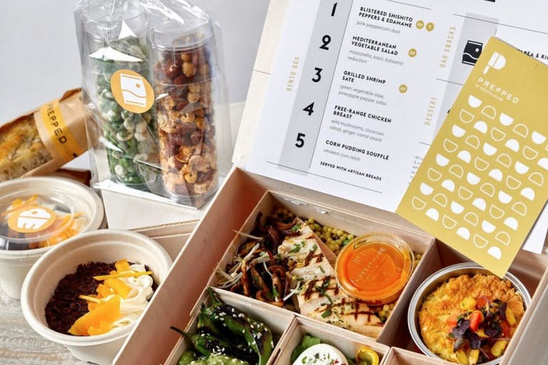 Virtual Bento Box Meal Kit from Constellation Culinary Group | PartySlate