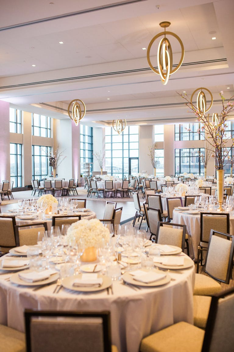 Wedding at InterContinental Washington D.C.- The Wharf — One of the Top Private Party Venues in DC | PartySlate
