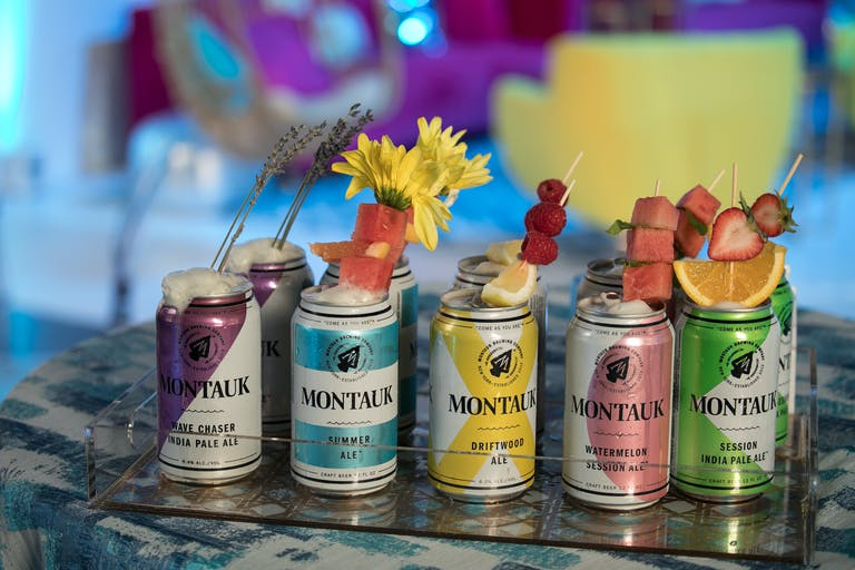 Boho Mitzvah at Photogroup in Washington DC With Colorful Canned Beverages and Fruity Garnishes | PartySlate