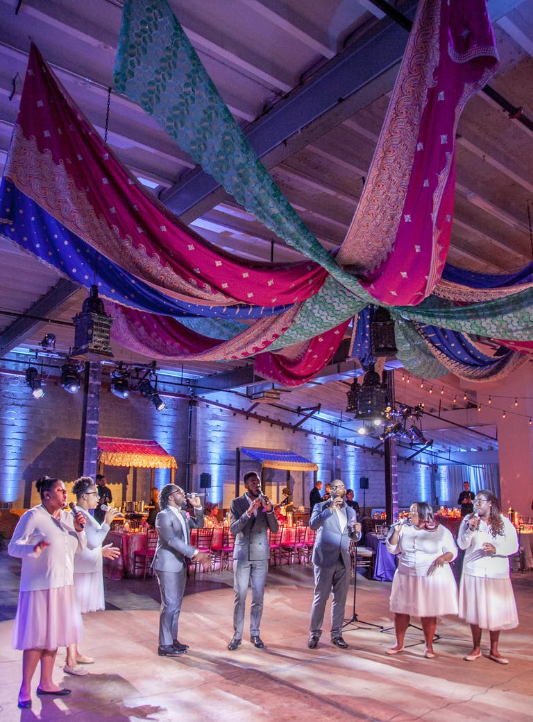 Chic Summer Wedding at Dock5 at Union Market — One of the Private Party Venues in DC | PartySlate