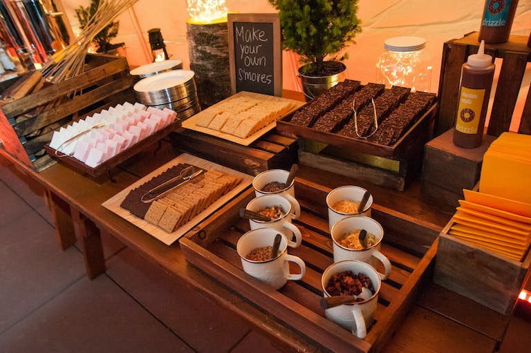 Devil's Backbone Event at Hudson Mercantile in New York With S'More Station | PartySlate