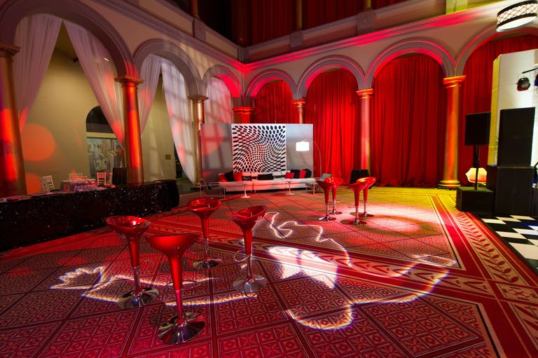 Grand Red Corporate Holiday Party at National Union Building in Washington D.C. | PartySlate