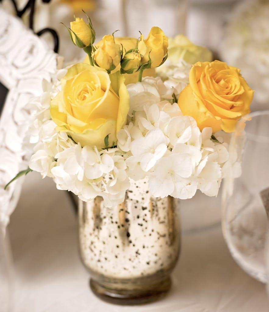 Lovely Yellow-Floral Wedding at The Ritz-Carlton Orlando, Grande Lakes in Orlando, FL