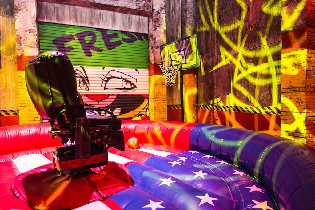 Neon Urban Art Bar Mitzvah