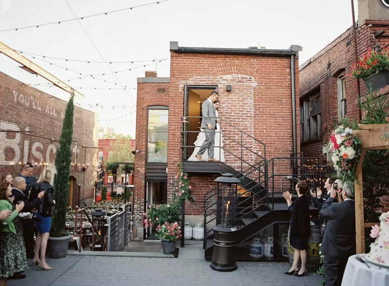 Courtyard Space at Gallery O on H in Washington D.C. | PartySlate