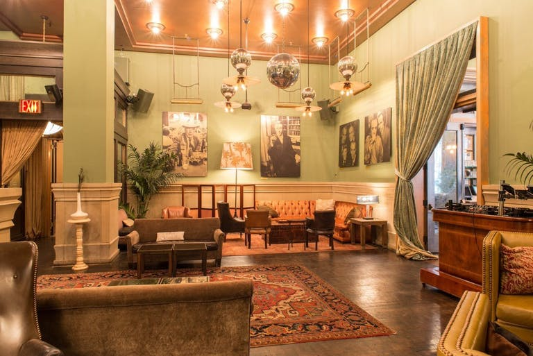 Club Room at Soho Grand Hotel in New York City