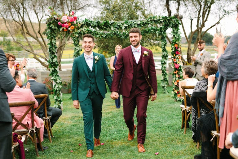 Colorful wedding a Top Event of 2020 | PartySlate