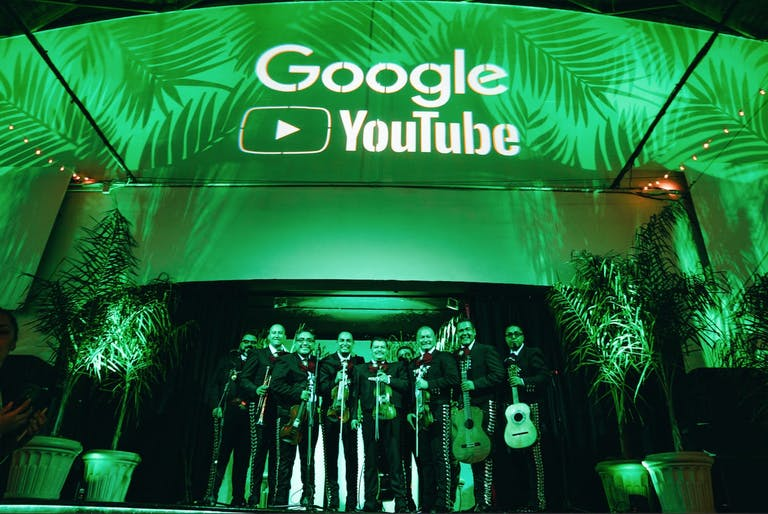 Google Youtube Holiday Party | PartySlate