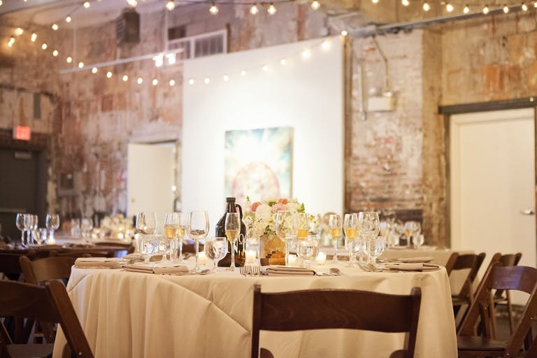 Vintage Travel Wedding at the Longview Gallery in Washington, D.C. | PartySlate