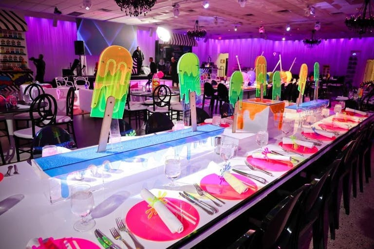 Colorful candy themed Bat Mitzvah | PartySlate