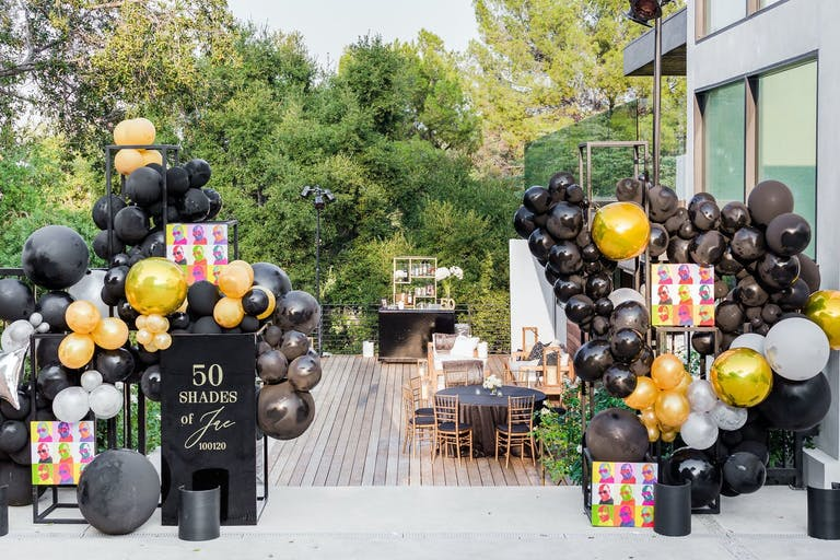 Starwars inspired 50th birthday party | PartySlate
