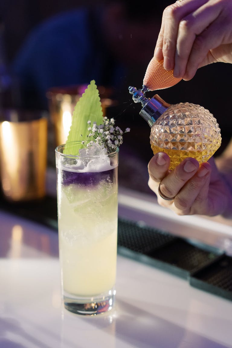 Cocktail with Perfume Spritzer by Constellation Catering Group | PartySlate