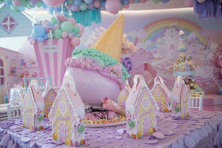 Candy Land-Themed Kid's Birthday Party | PartySlate