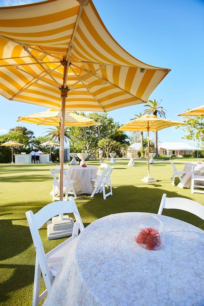 Romantic Beachfront Wedding at Coral Beach & Tennis Club in Hamilton, Bermuda