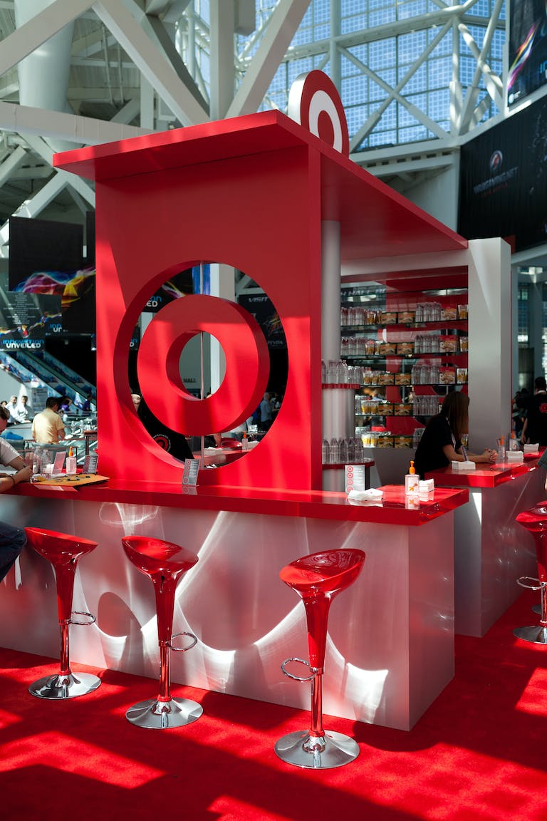 Target Booth at E3 at Los Angeles Convention Center in Los Angeles, California | PartySlate