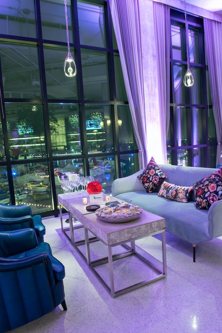 Trendy Reception at La Vie in Washington D.C., a Private Party Venue in DC | PartySlate