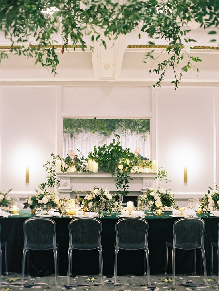 Winter Wedding at The LINE Hotel DC in Washington DC | PartySlate