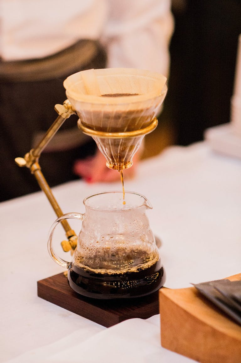 Pour Over Coffee at Wedding   PartySlate