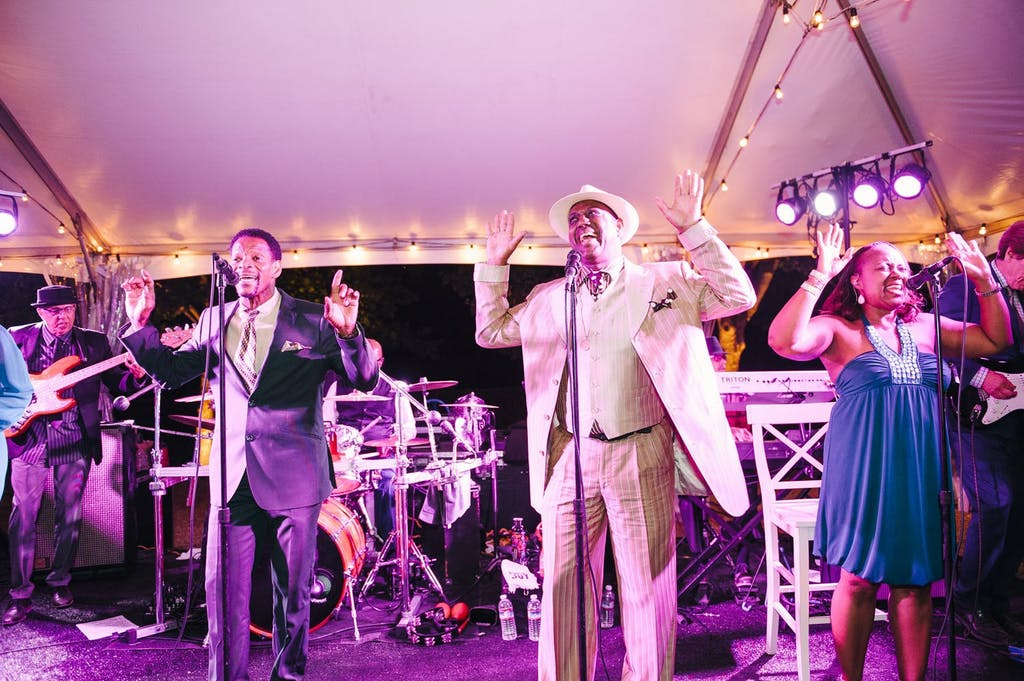 Pride and Joy Band Performs at Wedding | PartySlate