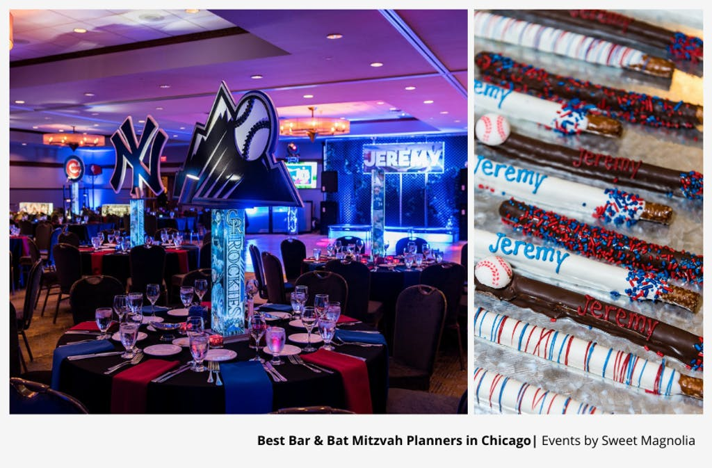 Baseball-Themed Bar Mitzvah Party Planned By Events by Sweet Magnolia | PartySlate
