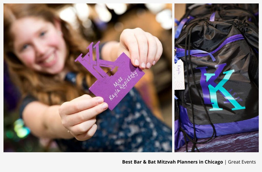 Springtime Bat Mitzvah Party in Chicago Planned by Great Events | PartySlate